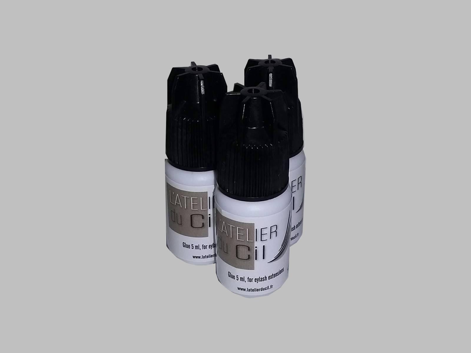 colle noire pour extensions de cils 5 ml l 39 atelier du cil. Black Bedroom Furniture Sets. Home Design Ideas